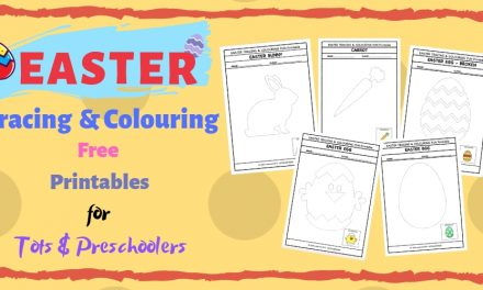 Easter Fun Activities – Tracing and Colouring FREE Printables