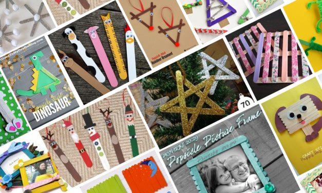 100+ Popsicle Sticks Craft Ideas