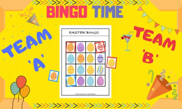 Play Time – Easter Bingo