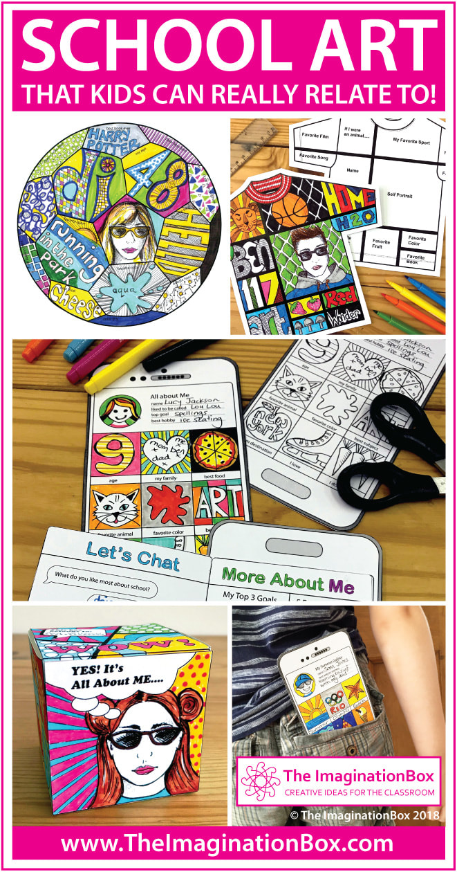 The ImaginationBox Blog, creative art projects and printables at your fingertips