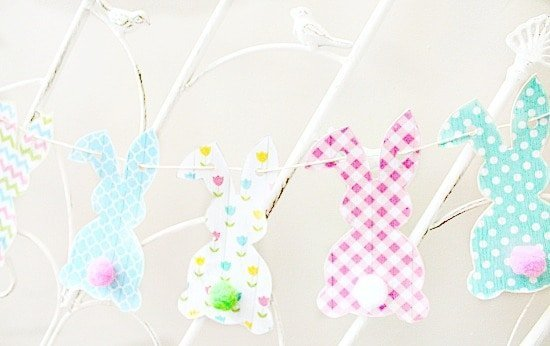 Free Easter Bunny Banner Printable