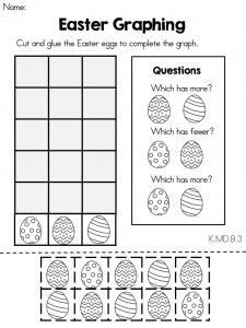 Free printable Easter worksheet for kids