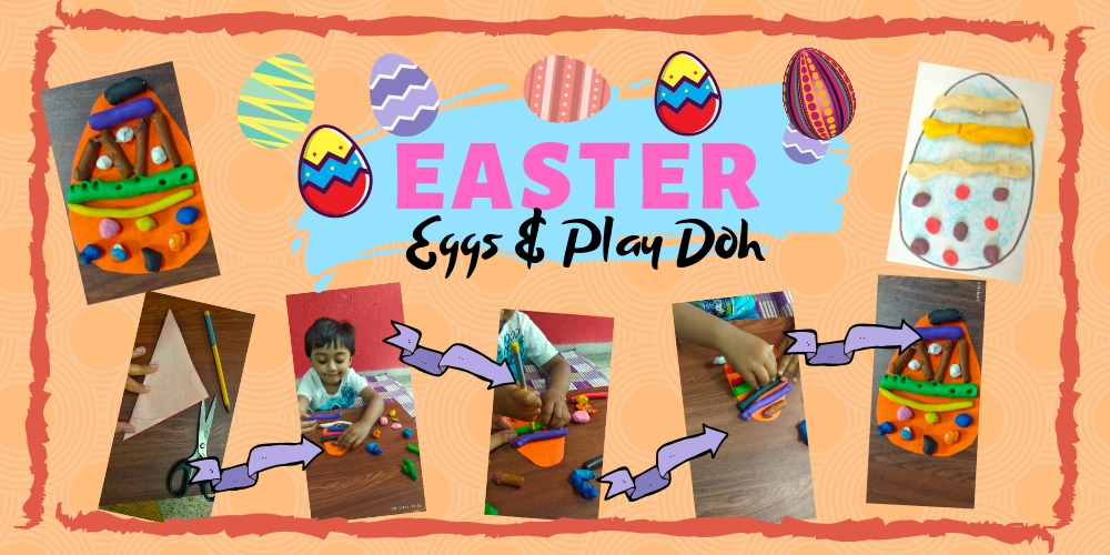 Easter Egg Decoration- Play Dough Playmats