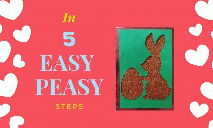 Easter Bunny DIY Frame
