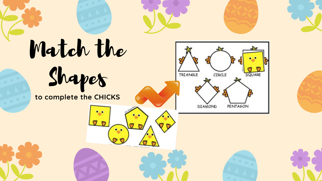 Chicks Shapes Sorting Puzzle