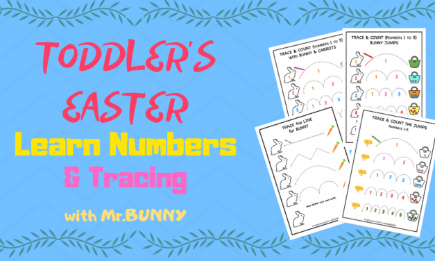 Easter Tracing & Counting Activity Pack – [PreK, KG, 1st]