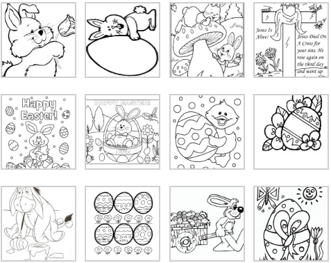 Easter Coloring Pages | Coloring Kids