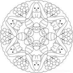 {Printable} ✿ Coloriages Pâques ✿