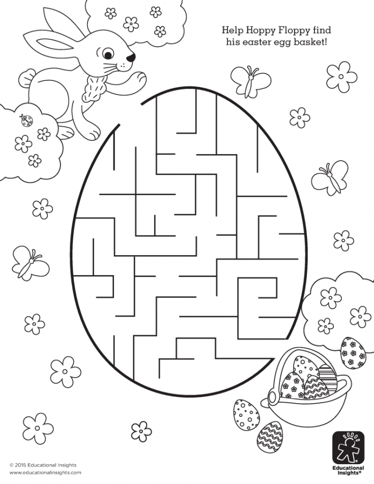 Add an A-MAZE-ing Addition to Your Easter Basket – FREE Printables