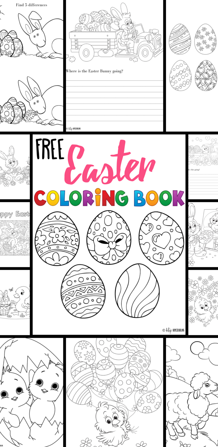 Free Easter Coloring Pages Your Kids will Love!