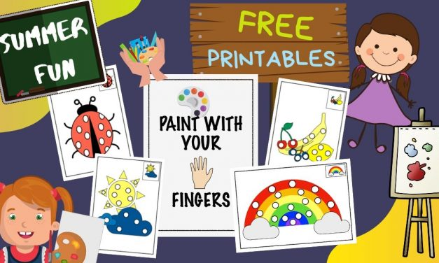Coloring Fingers – Time to get Messy