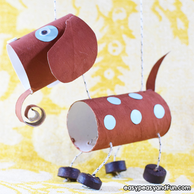 How To Make a Dog Marionette Puppet