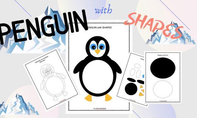Shape Craft – Penguin