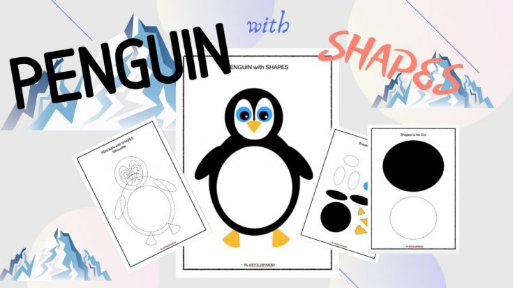 Shape Craft - Penguin