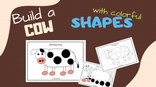Shapes Puzzle - COW