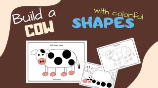 Shapes Puzzle - COW