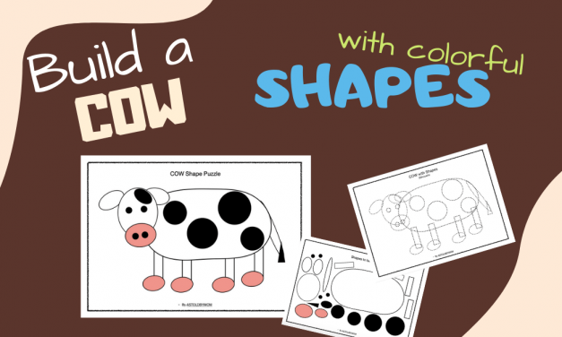 Shapes Puzzle – Moo Moo COW