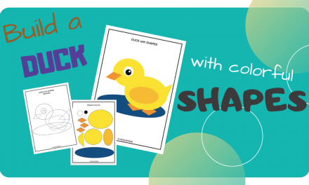 Shape Crafts – Make a DUCK
