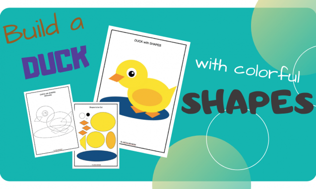Shape Crafts – Make a DUCK
