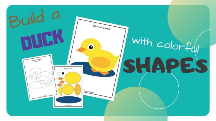 Shape Crafts - Make a DUCK