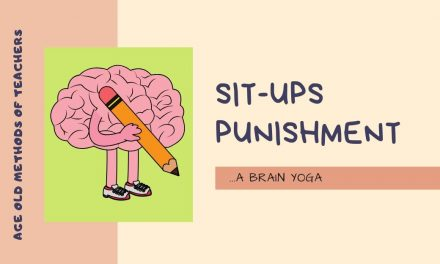 Sit-ups – A super brain Yoga for kids