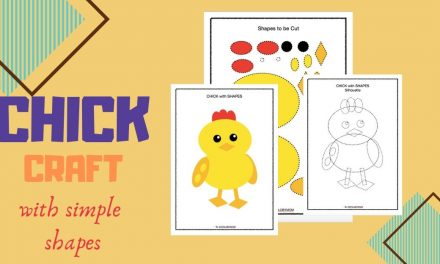 Make a Chick with Shapes