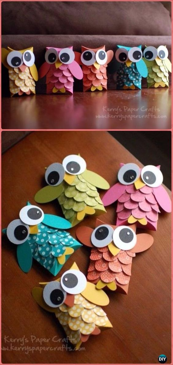 DIY TP Roll Owl Tutorial – Paper Roll Christmas Craft Ideas & Projects