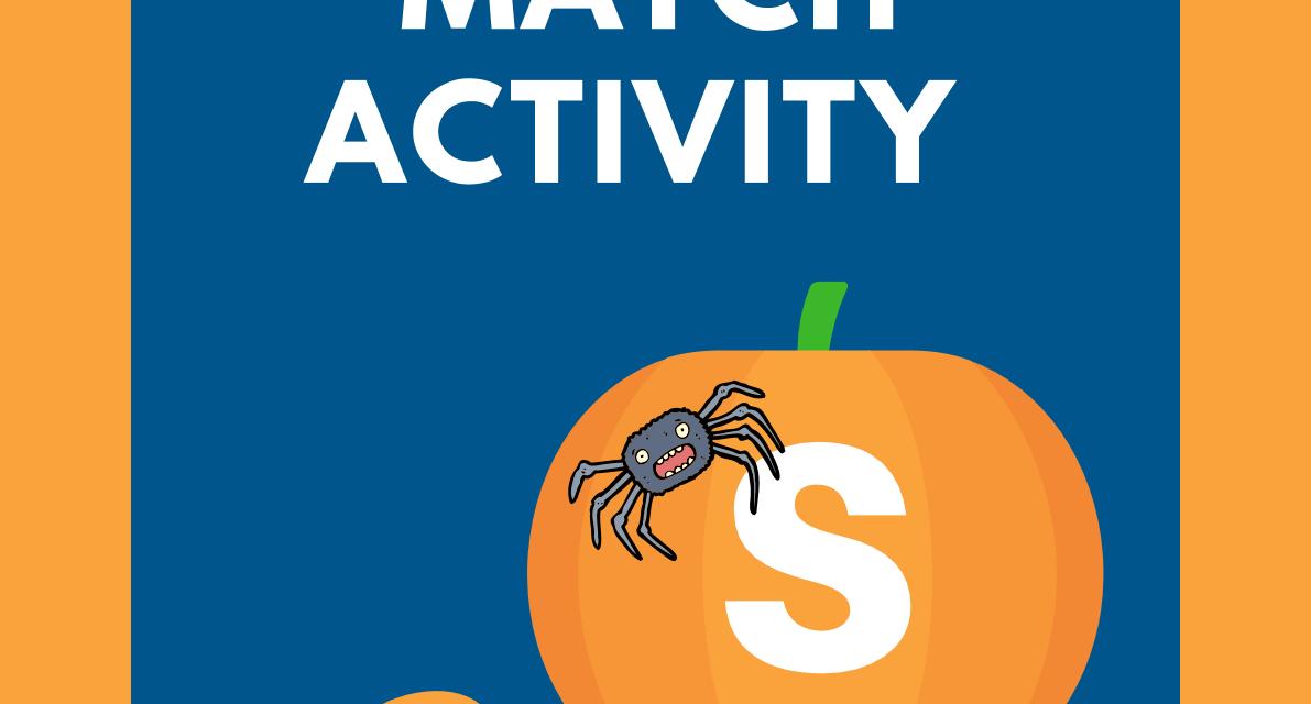 Alphabet Puzzle – Halloween Themed Activity for Pre-K & Kindergarten