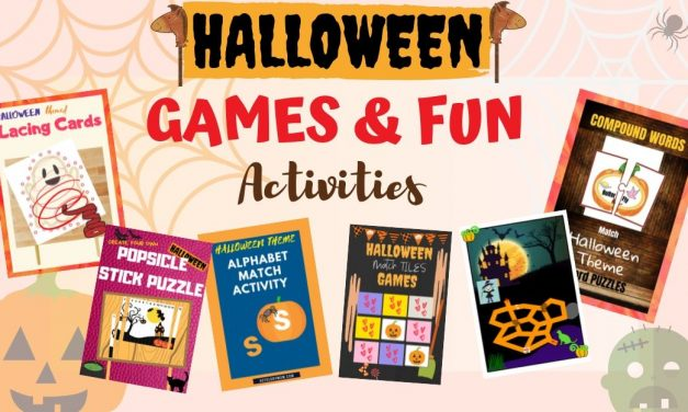 FREE Halloween Games And Activities