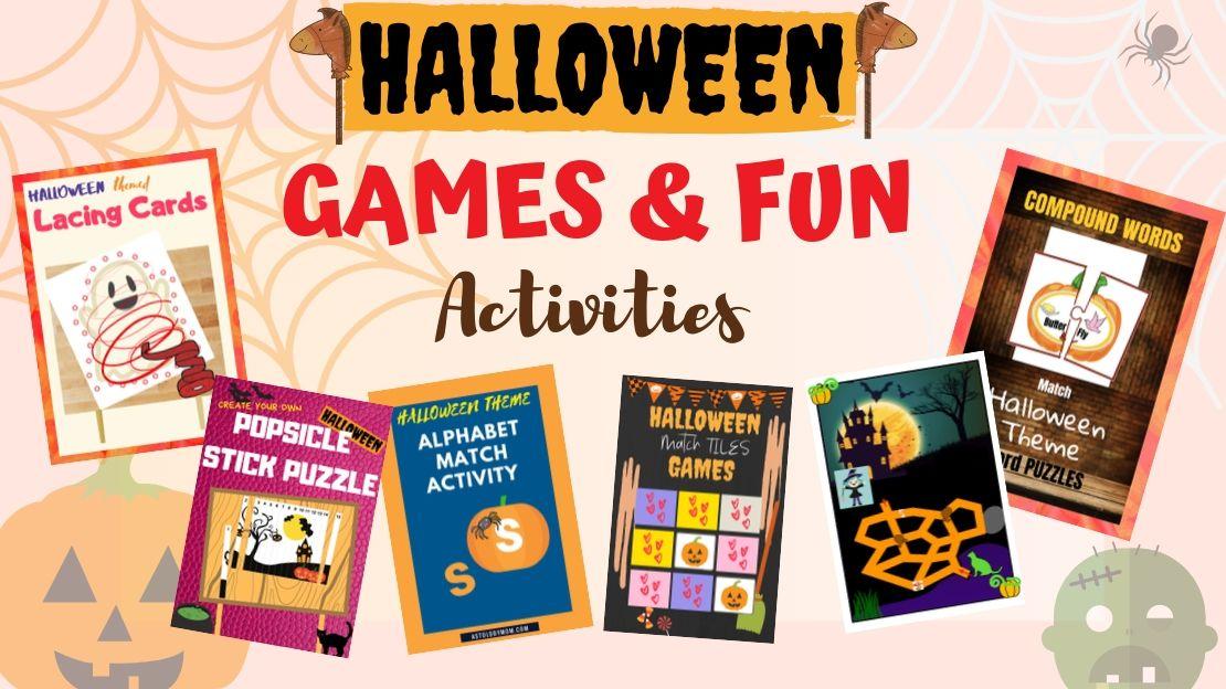 FREE Halloween Games And Activities