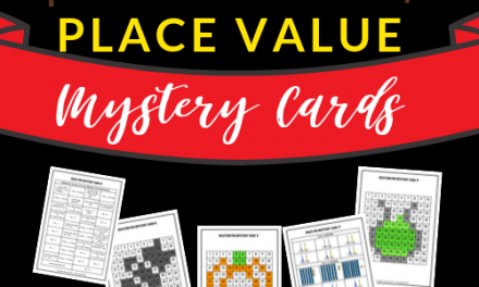 Place Value Mystery Cards – Halloween Themed