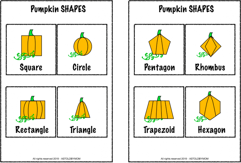 Pumpkin & Shapes