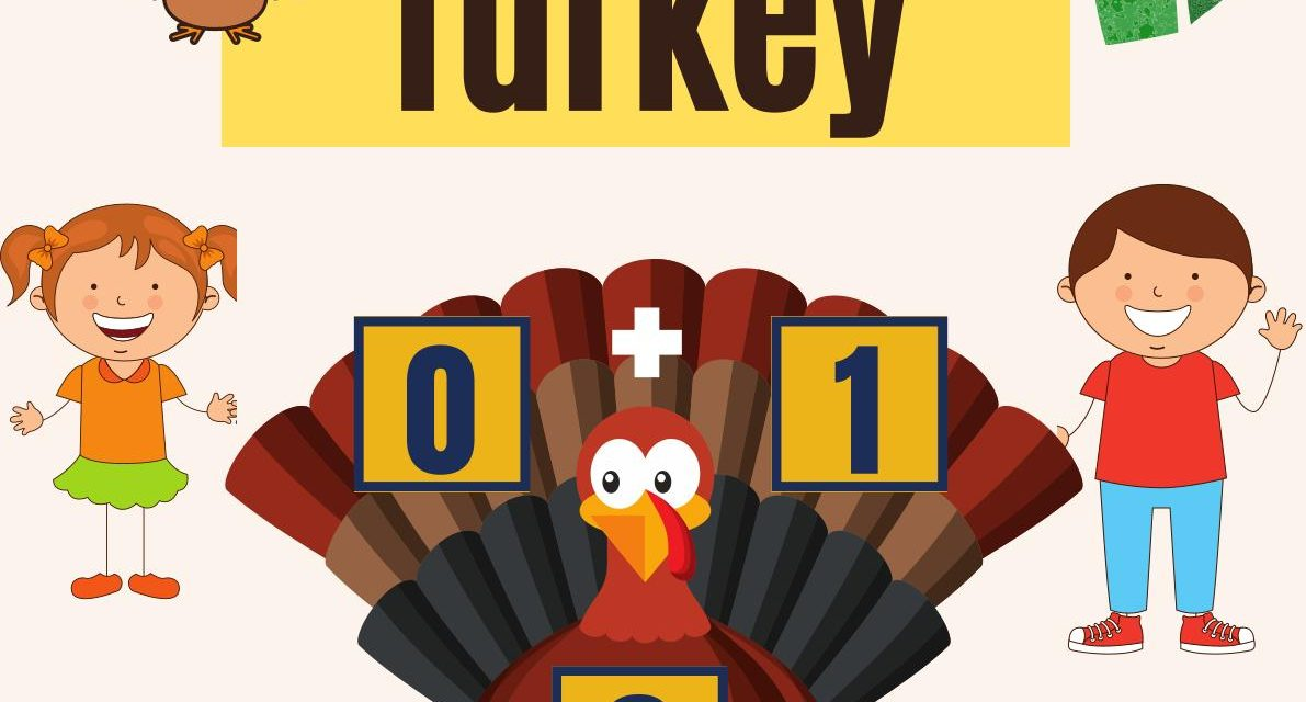 Learn Addition in Thanksgiving Turkey Way