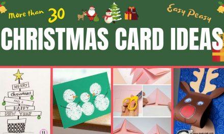 29 Easy DIY Christmas Cards Ideas