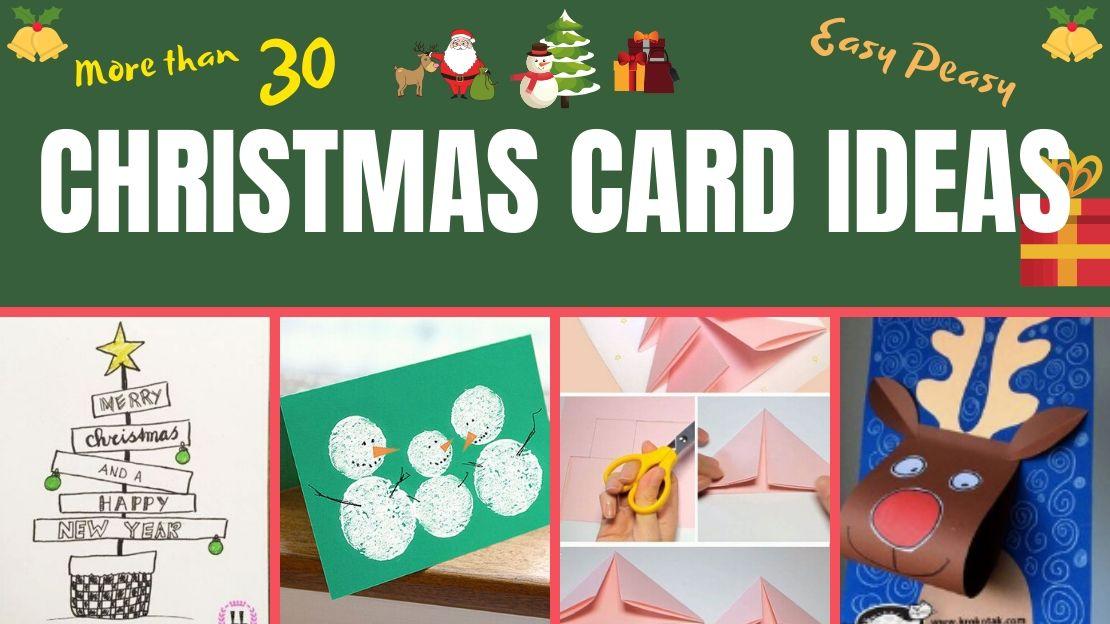 26 Easy DIY Christmas Cards Ideas
