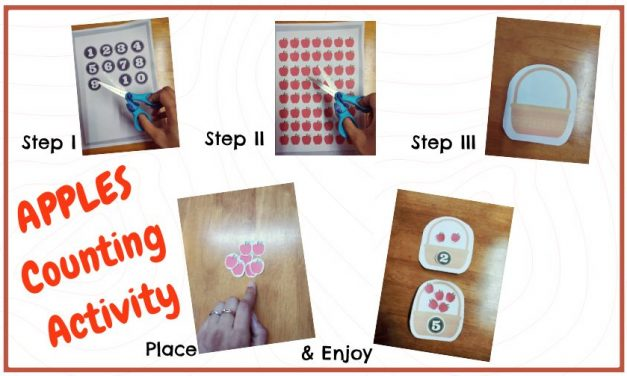 Apple Counting Activity