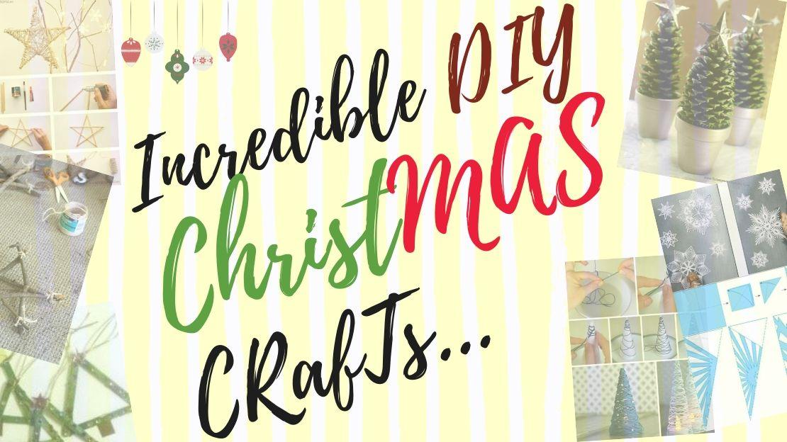 List of Christmas CRAFTS