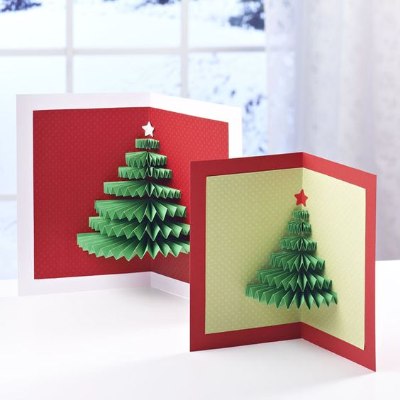 DIY Christmas Cards Which You Can Easily Make