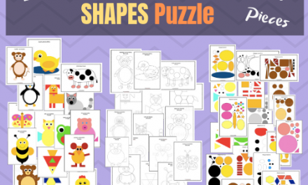 Shape Crafts – Animal Puzzles