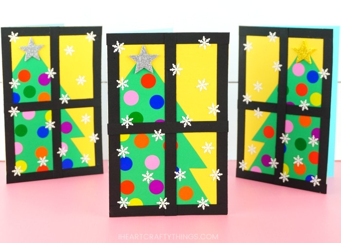 Beautiful and Easy-to-Make Christmas Tree Card for Kids