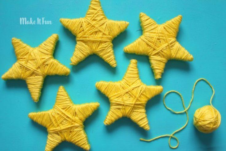 Cute star garland
