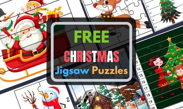 DIY Christmas Jigsaw Puzzles
