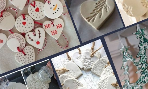 50 Salt Dough Ornaments &  Christmas Decorations