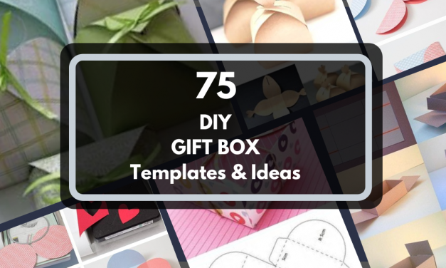 75 DIY Gift Box Ideas