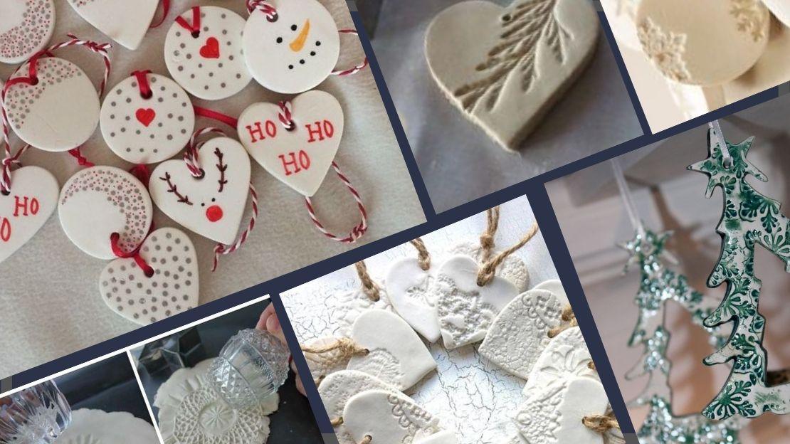 50 Salt Dough Ornaments &  Christmas Decorations
