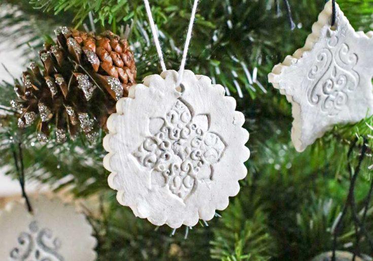 50 Salt Dough Ornaments & Christmas