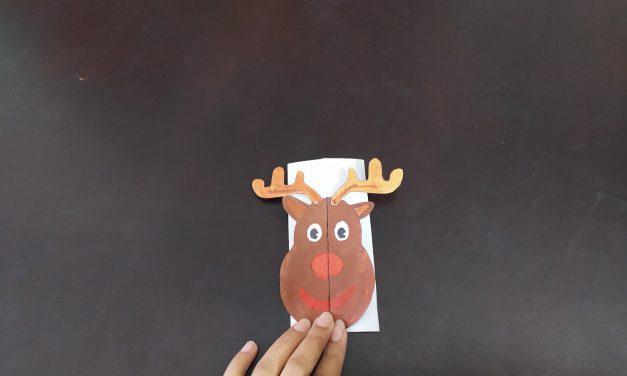 DIY Handmade Reindeer Card
