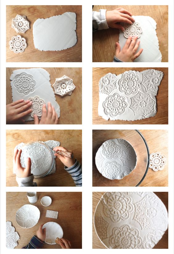 Easy To Make Air Dry Bowls