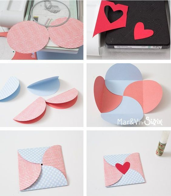Simple envelope made with paper circles | cscianna | Daily inspiration from our bloggers