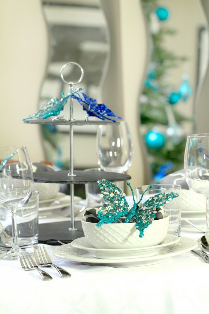 26 Beautiful Teal Christmas Decoration Ideas - Christmas Celebration - All about Christmas